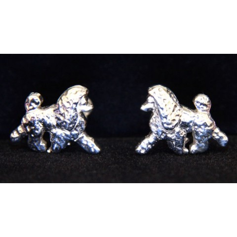 Show Poodle Earrings [Silver]