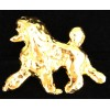 Show Poodle Pin [Gold]