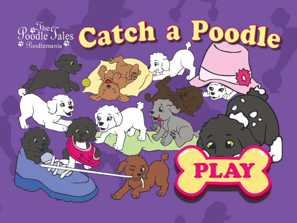 Catch A Poodle title screen